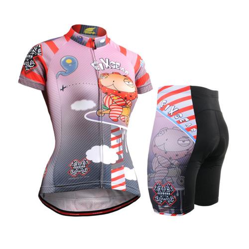 FIXGEAR Women's Cycling Jerseys & Padded Shorts CS-W1602-SET