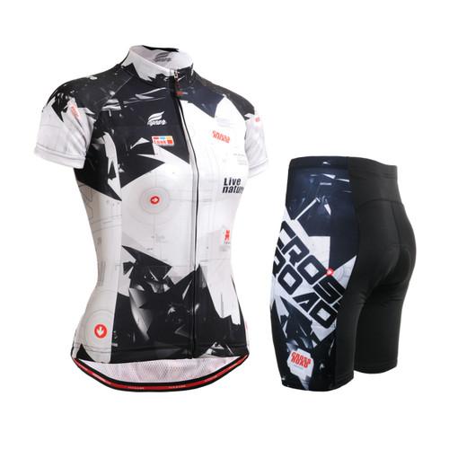FIXGEAR Women's Cycling Jerseys & Padded Shorts CS-W1702-SET
