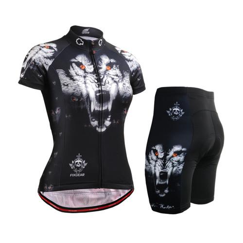 FIXGEAR Women's Cycling Jerseys & Padded Shorts CS-W1802-SET