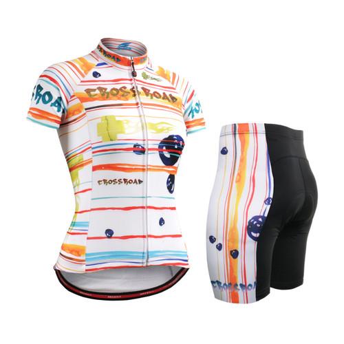 FIXGEAR Women's Cycling Jerseys & Padded Shorts CS-W2002-SET