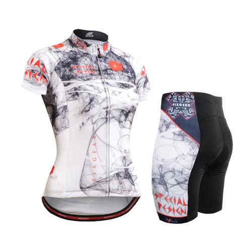FIXGEAR Women's Cycling Jerseys & Padded Shorts CS-W2102-SET