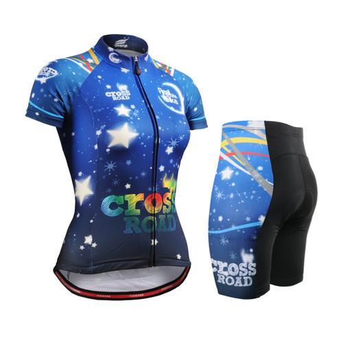 FIXGEAR Women's Cycling Jerseys & Padded Shorts CS-W2302-SET