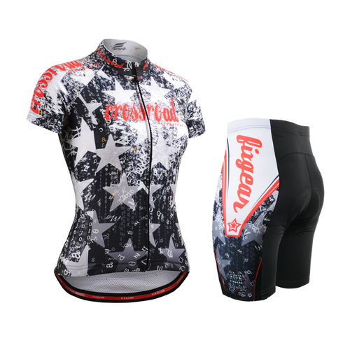 FIXGEAR Women's Cycling Jerseys & Padded Shorts CS-W2402-SET
