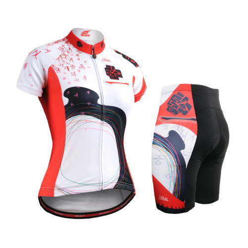 FIXGEAR Women's Cycling Jerseys & Padded Shorts CS-W2502-SET