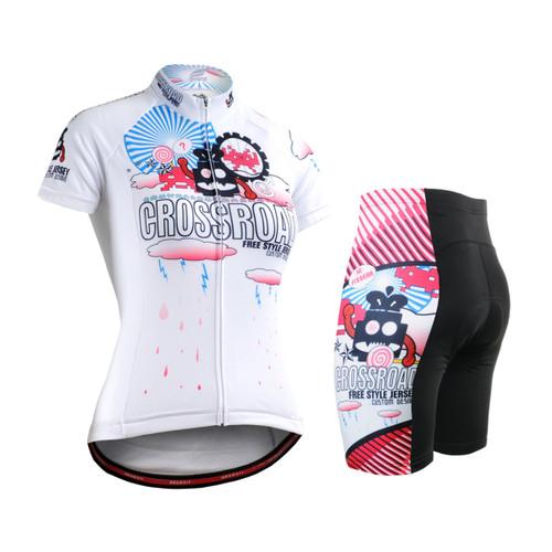 FIXGEAR Women's Cycling Jerseys & Padded Shorts CS-W2902-SET