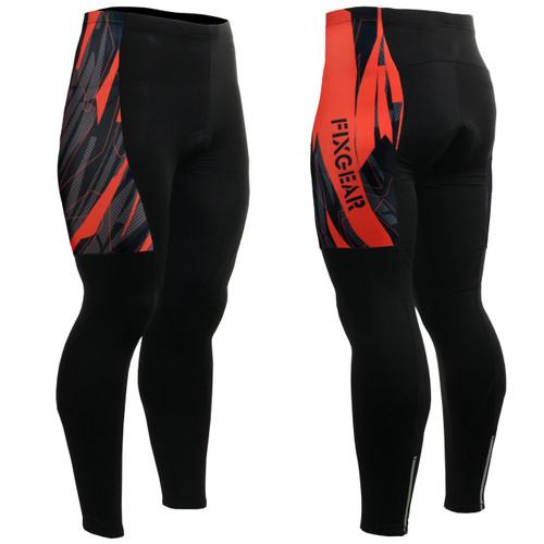 FIXGEAR LT-68 Mens Cycling Padded Pants