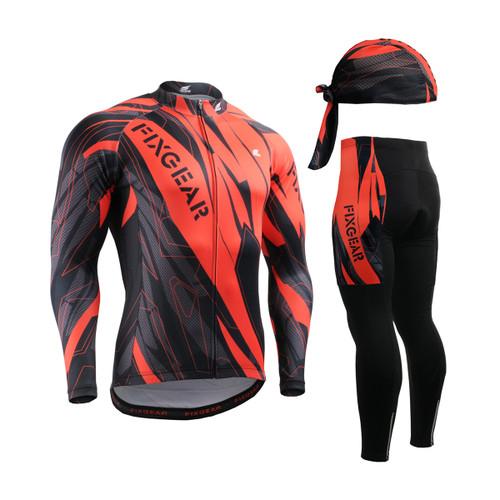 FIXGEAR Cycling Jerseys & Padded Pants CS-6801 SET