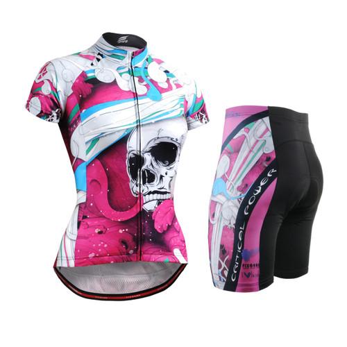 FIXGEAR Women's Cycling Jerseys & Padded Shorts CS-W19P2-SET