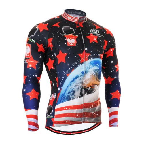 FIXGEAR CS-1001 Men's Cycling Jersey long sleeve
