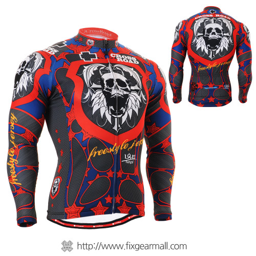 FIXGEAR CS-1101 Men's Cycling Jersey long sleeve