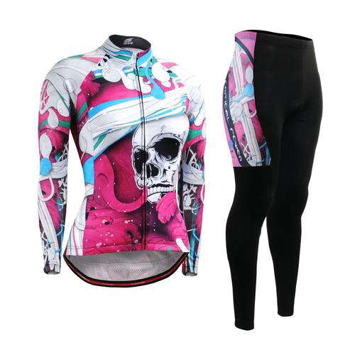 FIXGEAR Women's Cycling Jerseys & Padded Pants CS-W19P1 SET