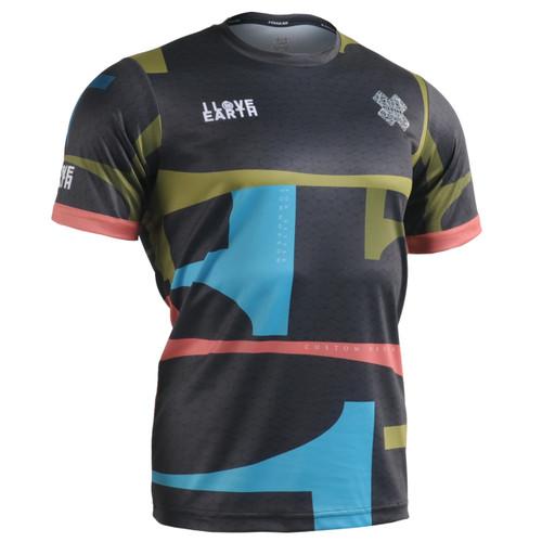 FIXGEAR RM-34k2 Men's Casual short sleeve Crew-Neck T-shirt