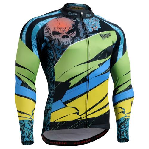 FIXGEAR CS-7401 Men's Long Sleeve Cycling Jersey