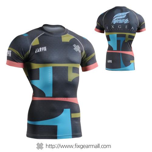 FIXGEAR CFS-34k Compression Base Layer Short Sleeve Shirts