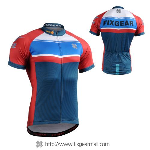 FIXGEAR CS-7702 Men's Short Sleeve Cycling Jersey