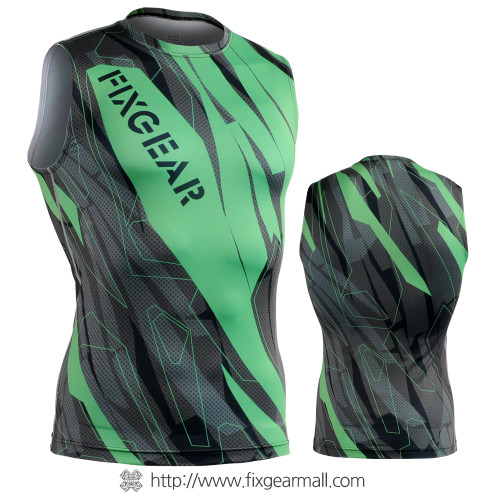 FIXGEAR CFN-H68G Compression Base Layer Sleeveless Shirts