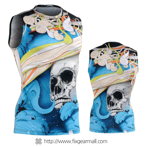 FIXGEAR CFN-H19B Compression Base Layer Sleeveless Shirts