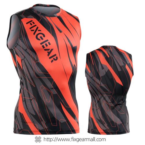 FIXGEAR CFN-H68 Compression Base Layer Sleeveless Shirts