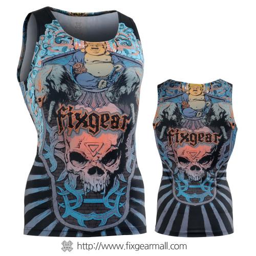 FIXGEAR CFN-L74 Compression Base Layer Sleeveless Shirts