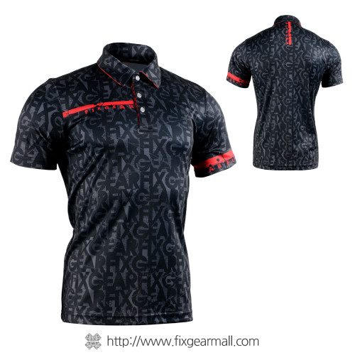 FIXGEAR FPO-g6 Mens short sleeve jersey Polo shirt