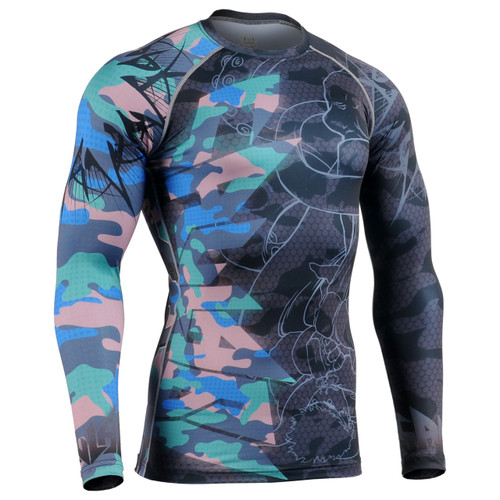 FIXGEAR CFL-H5-C Compression Base Layer Shirts