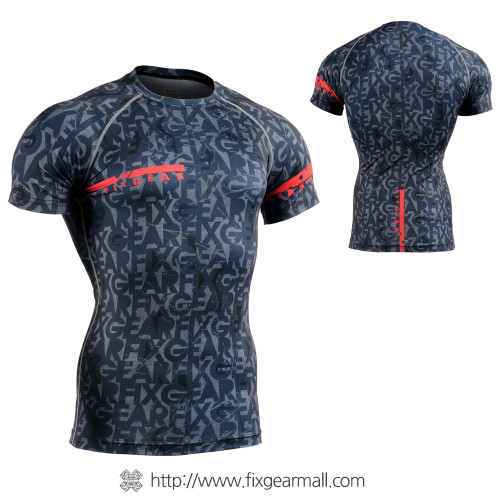 FIXGEAR CFS-G6 Compression Base Layer Short Sleeve Shirts