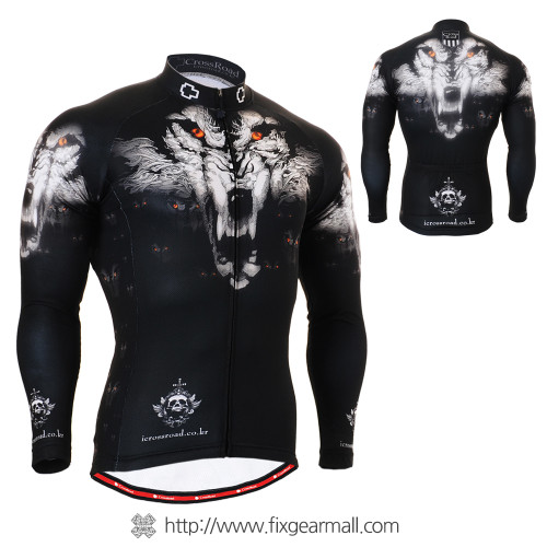 FIXGEAR CS-1801 Men's Cycling Jersey long sleeve