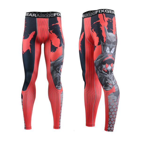 FIXGEAR FPL-H4 Compression Base Layer Tights with Wide Waistband