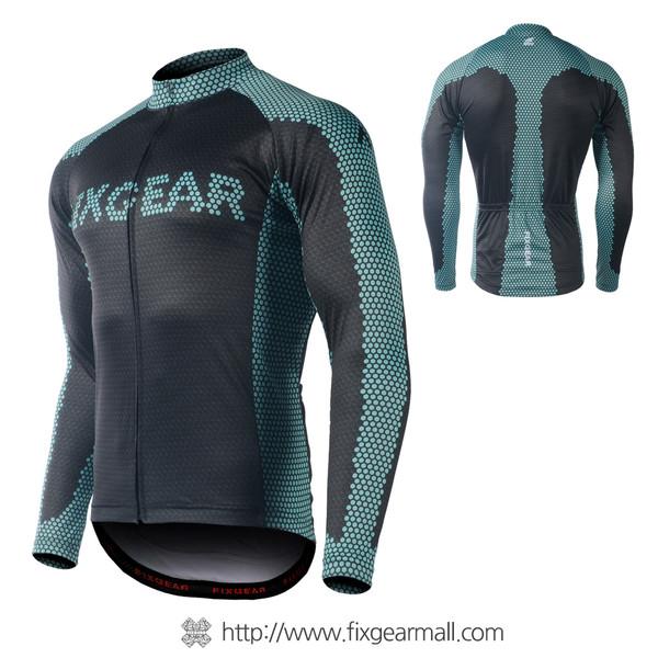 FIXGEAR CS-G1701 Men's Long Sleeve Road Cycling Jersey