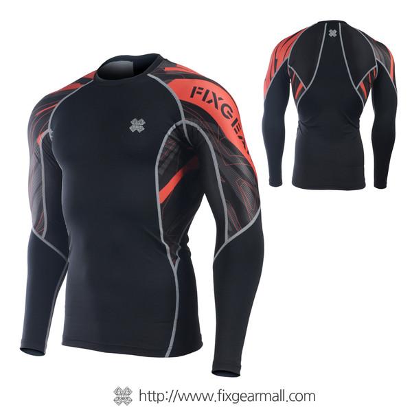FIXGEAR C2L-B68 Compression Base Layer Long Sleeve Shirts