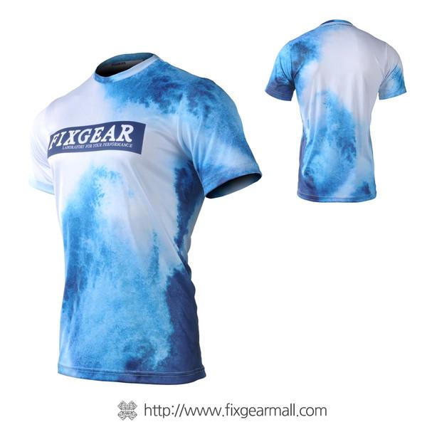 FIXGEAR RM-O1 Men's Casual short sleeve Crew-Neck T-shirt