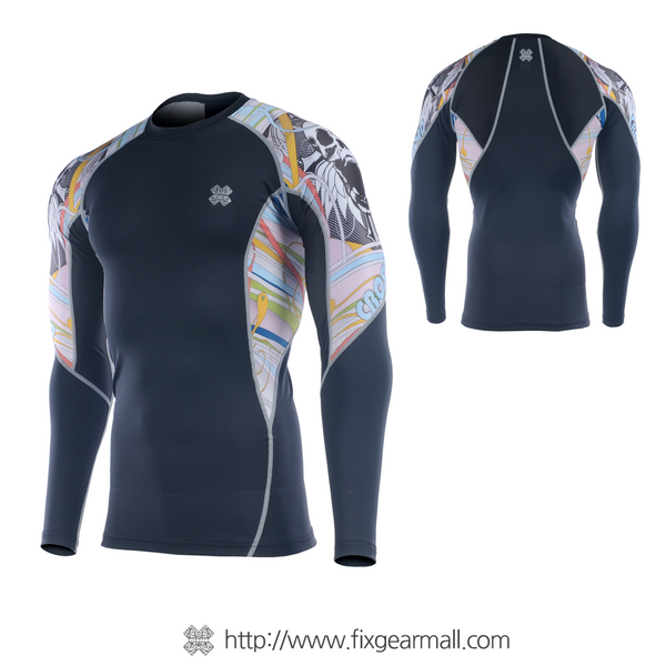 FIXGEAR C2L-B3 Compression Base Layer Long Sleeve Shirts