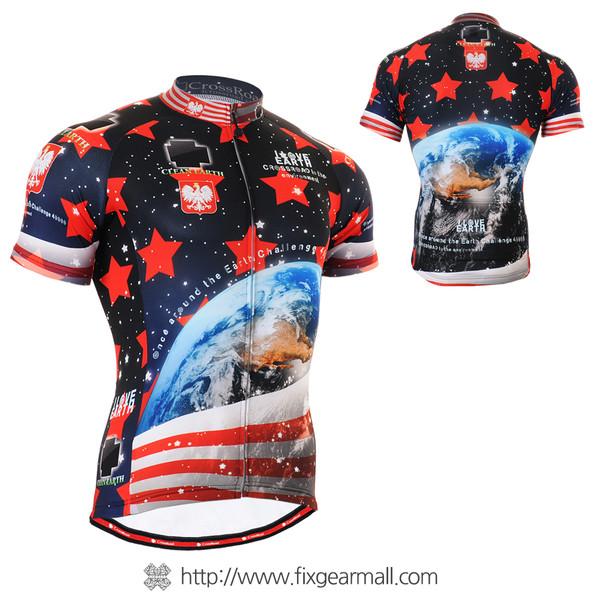 FIXGEAR CS-1002 Men's Cycling Jersey Short Sleeve
