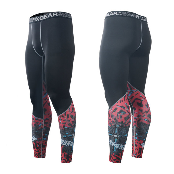 FIXGEAR FPL-73 Compression Base Layer Tights with Wide Waistband