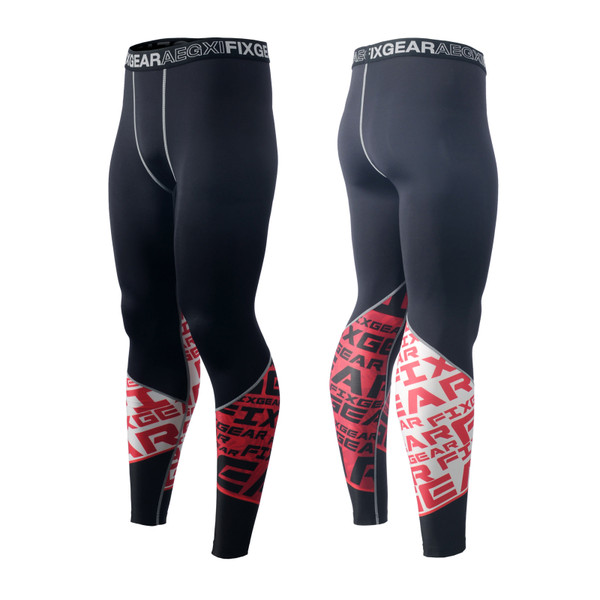 FIXGEAR FPL-G8 Compression Base Layer Tights with Wide Waistband