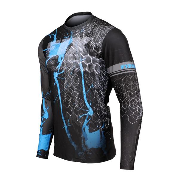 FIXGEAR RM-S1601 Men's Casual Long sleeve Crew-Neck T-shirt
