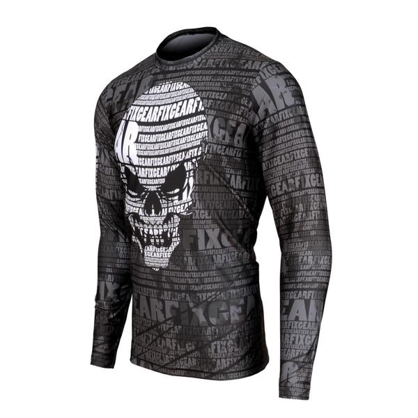 FIXGEAR RM-S1701 Men's Casual Long sleeve Crew-Neck T-shirt
