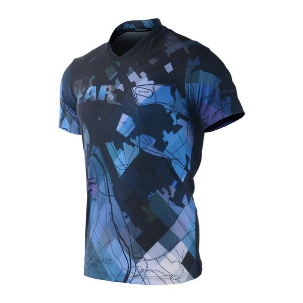FIXGEAR TS-G14 Men's Casual Short sleeve V-Neck T-shirt