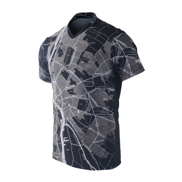 FIXGEAR TS-G15 Men's Casual Short sleeve V-Neck T-shirt