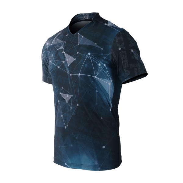 FIXGEAR TS-G18 Men's Casual Short sleeve V-Neck T-shirt