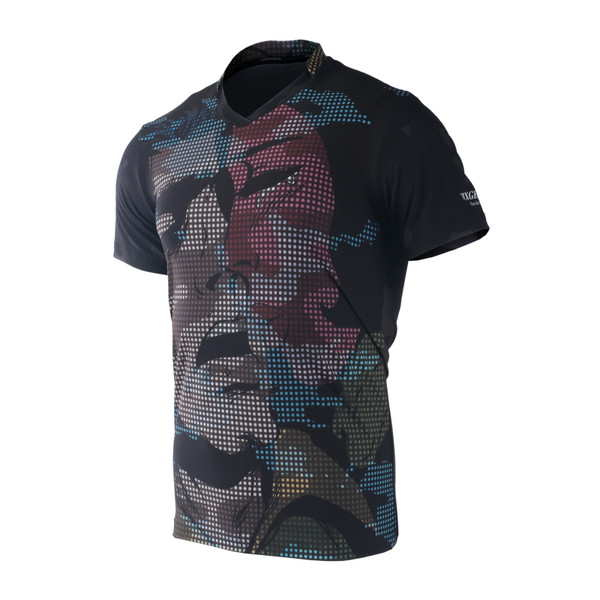 FIXGEAR TS-M6 Men's Casual Short sleeve V-Neck T-shirt