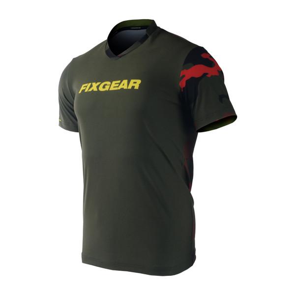 FIXGEAR TS-M7 Men's Casual Short sleeve V-Neck T-shirt