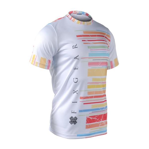 FIXGEAR RM-33 Men's Casual short sleeve Crew-Neck T-shirt
