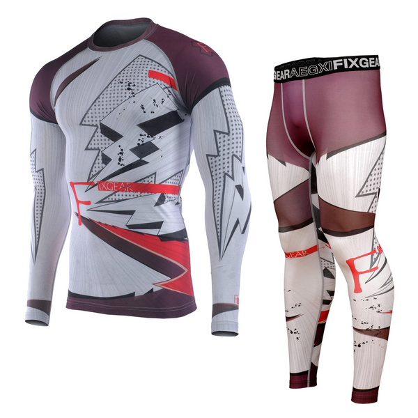 FIXGEAR CFL/FPL-S14 Compression Shirt and Tights Set