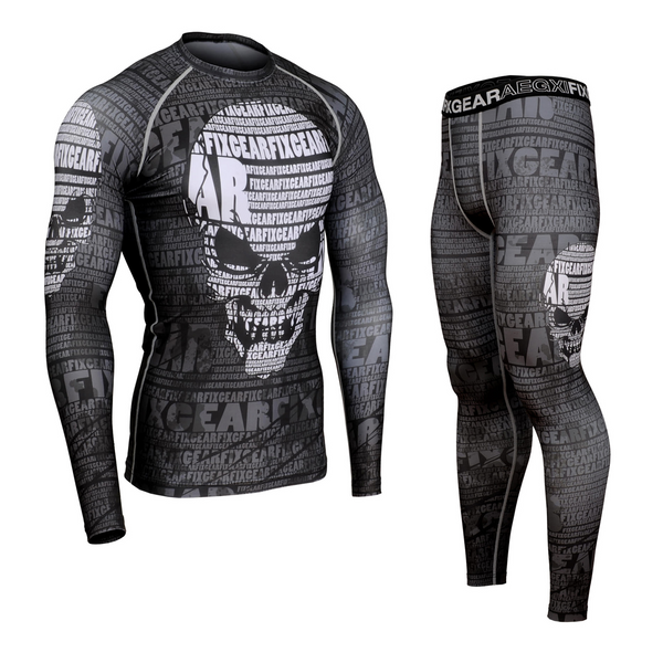 FIXGEAR CFL/FPL-S17 Compression Shirt and Tights Set