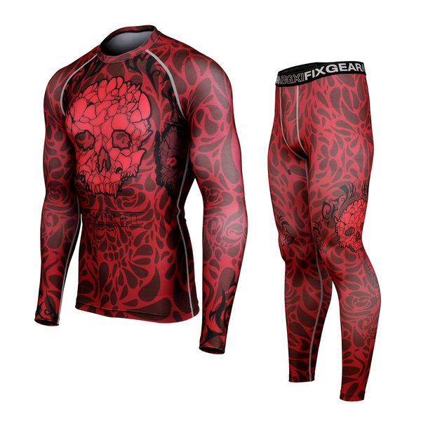 FIXGEAR CFL/FPL-S19R Compression Shirt and Tights Set