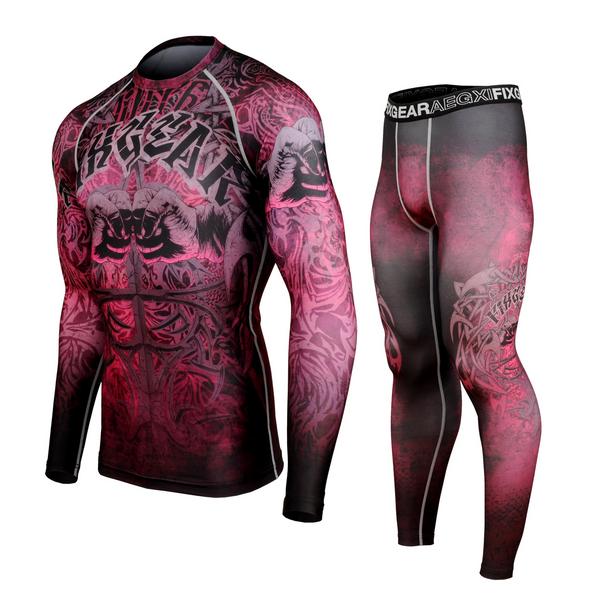 FIXGEAR CFL/FPL-S21 Compression Shirt and Tights Set