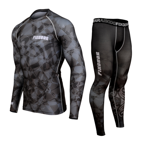 FIXGEAR CFL/FPL-S22 Compression Shirt and Tights Set