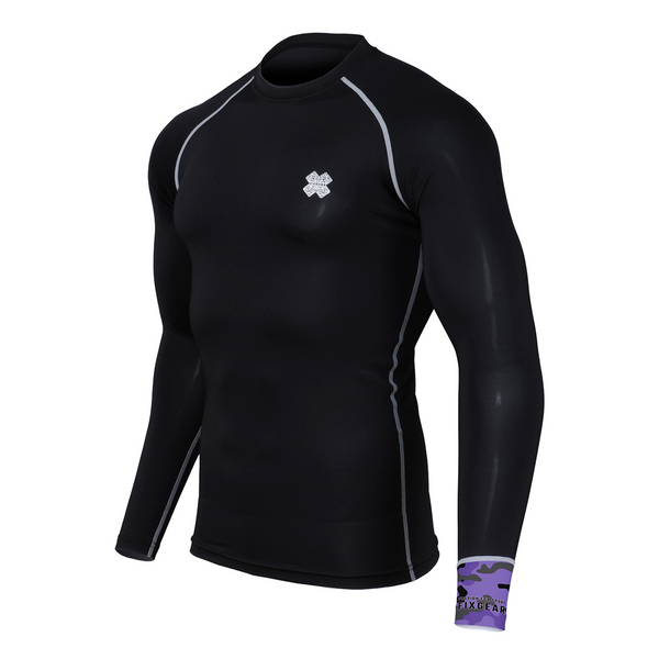 Fixgear CPL-BK2 Compression Base Layer Long Sleeve Shirts