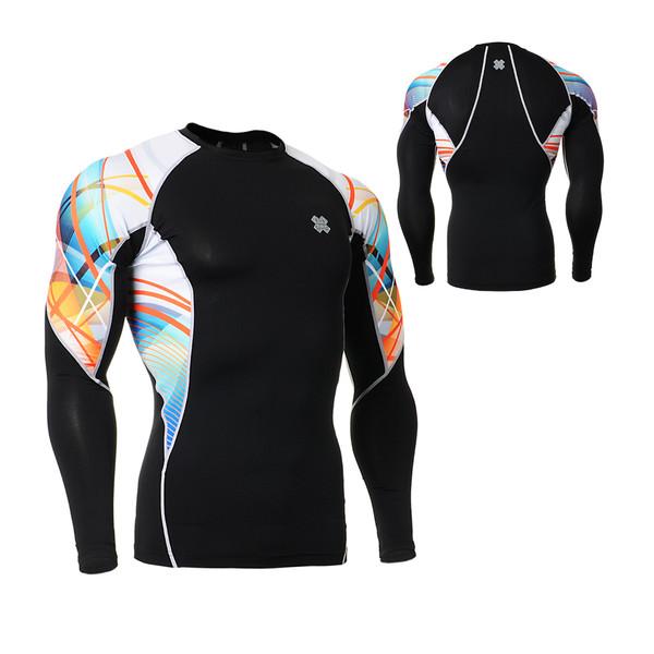 FIXGEAR C2L-B49 Compression Base Layer Long Sleeve Shirts